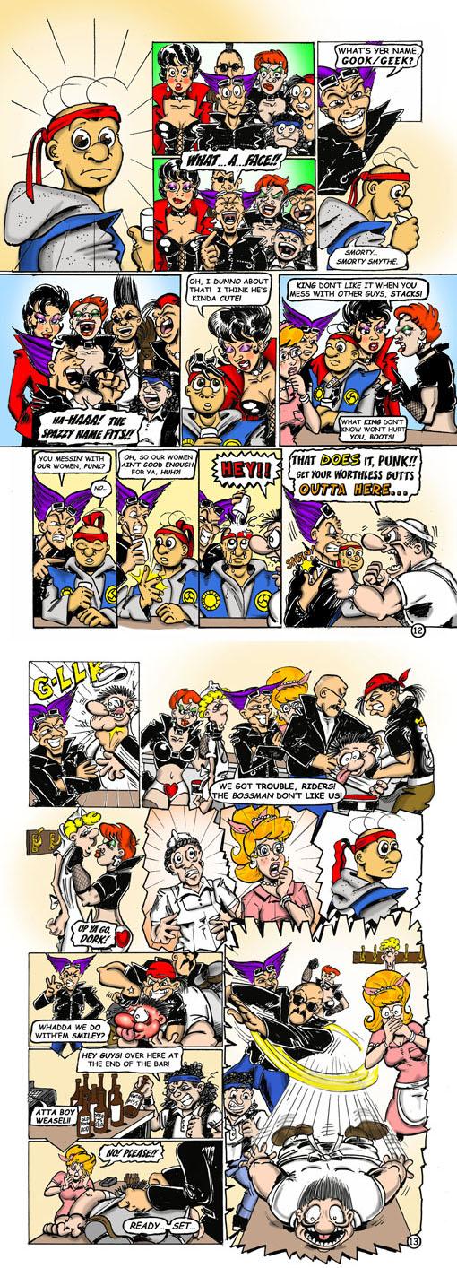 Smorty Smythe #1 pg. 12-13