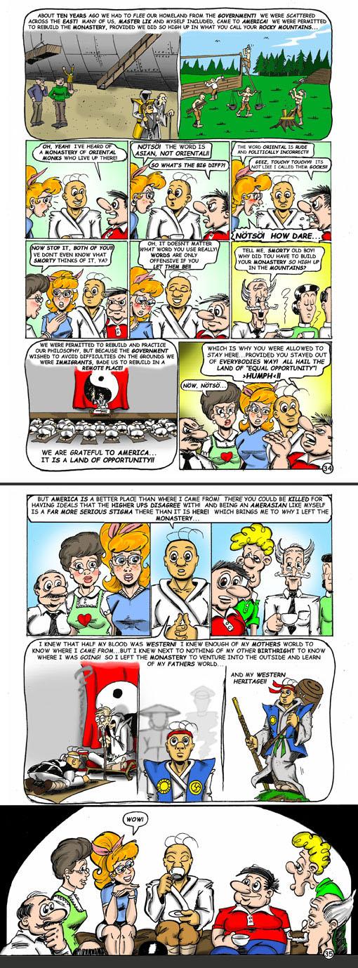 Smorty Smythe #1 pg. 34-35