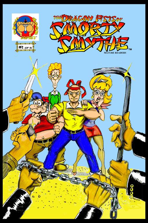 Smorty Smythe #2 Cover
