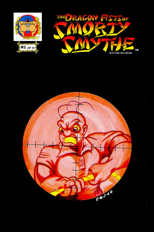 Smorty Smythe #3 Cover