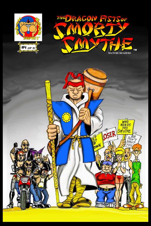 Smorty Smythe #4 Cover