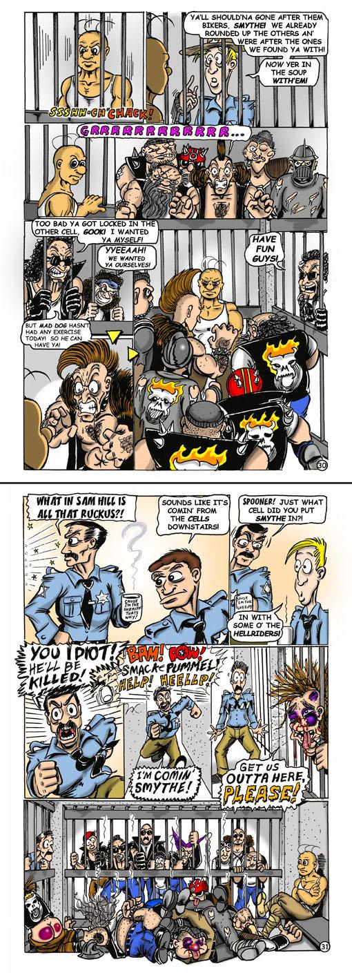 Smorty Smythe #4 pg. 30-31