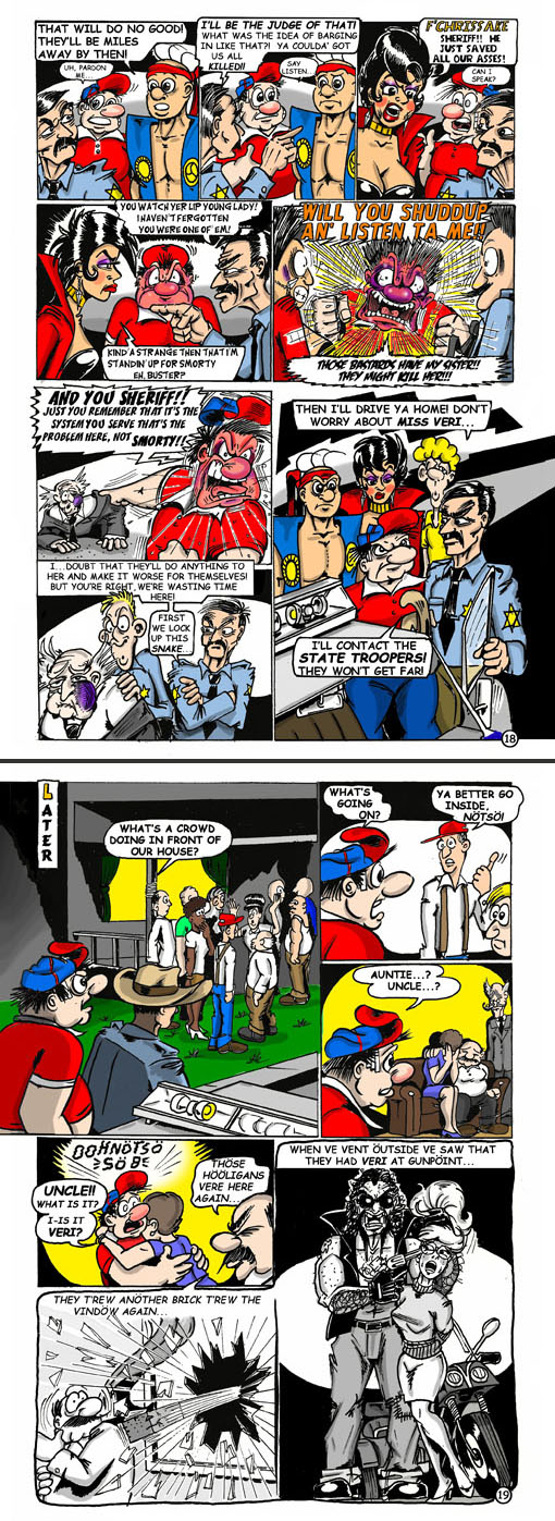 Smorty Smythe #5 pg. 18-19