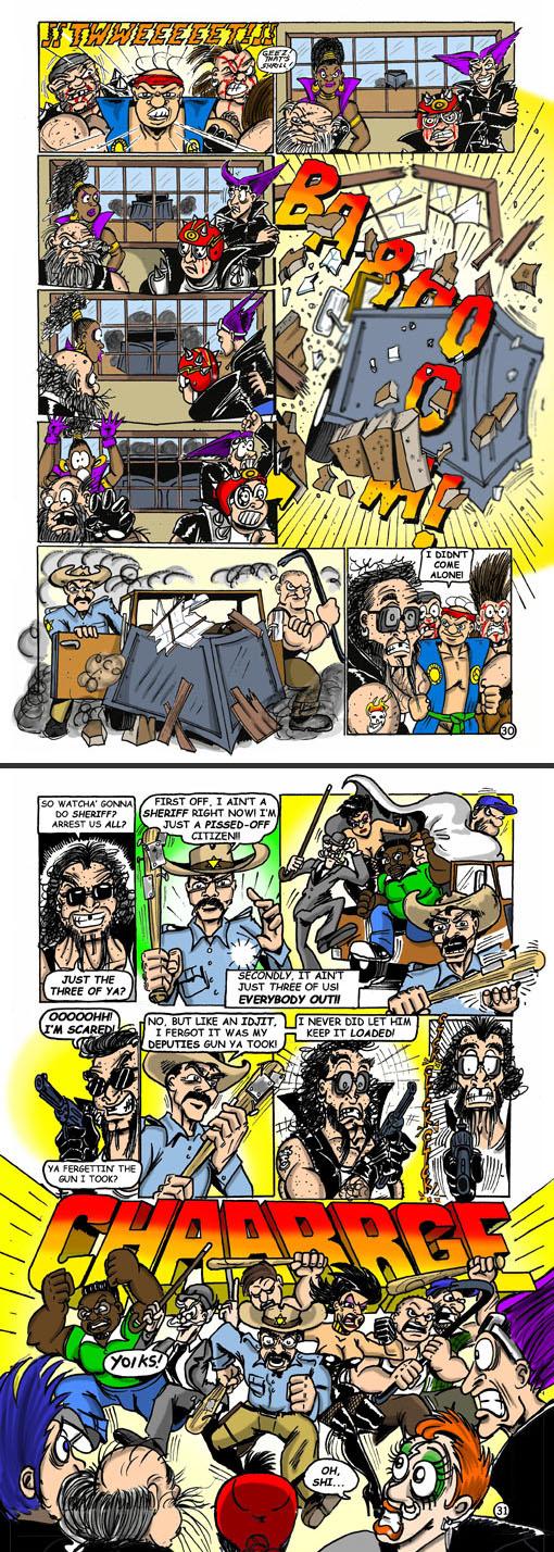 Smorty Smythe #5 pg. 30-31