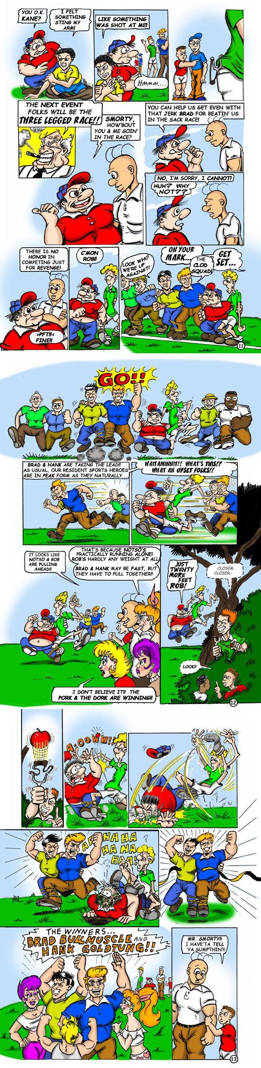 Smorty Smythe #3 pg. 11-12-13