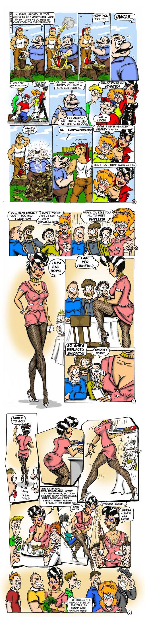 Smorty Smythe #4 pg. 05-06-07